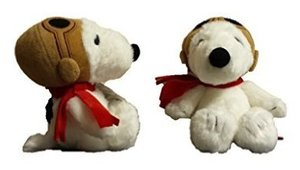 Peanuts Snoopy Flying Ace 7.5In Pilot