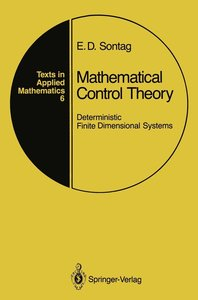 Sontag, E: Mathematical Control Theory