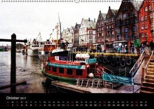 Norwegen - Die Fjordstädte (Wandkalender 2017 DIN A2 quer)