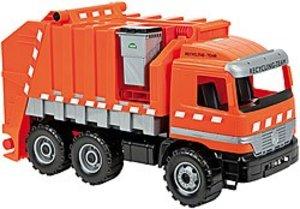 Simm 02059 - Starke Riesen: Actros Müllwagen, mit Aufkleber, 72