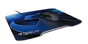 ROCCAT Raivo Lightning Blue High-Velocity Gaming Mousepad