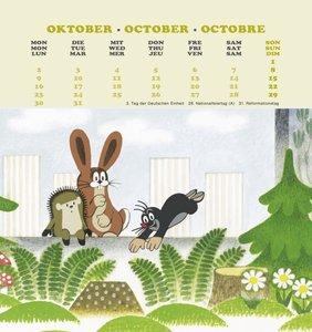 Der kleine Maulwurf 2017. Postkartenkalender