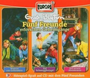 Fünf Freunde Box 04. Folgen 15, 19, 21. 3 CDs