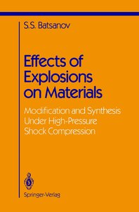 Effects of Explosions on Materials