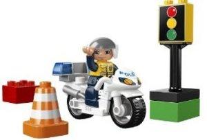 LEGO® Duplo Town 5679 - Motorradpolizist