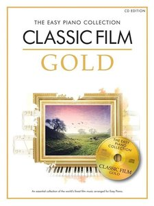 THE EASY PIANO COLLECTION CLASSIC FILM EASY PIANO BOOK/CD