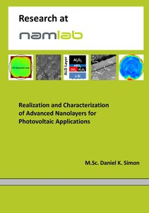 Realization and Characterization of Advanced Nanolayers for Phot
