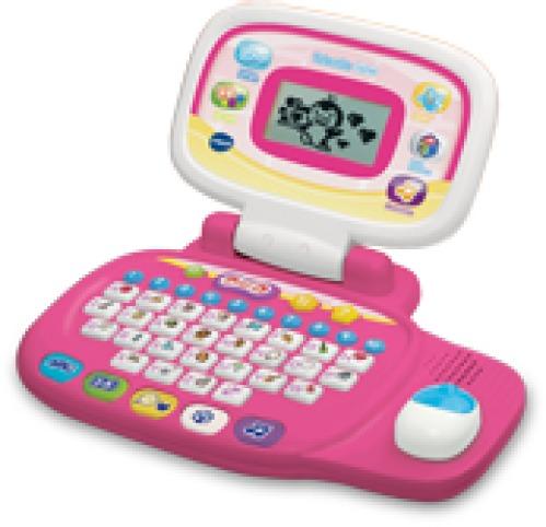 Vtech 80-155454 - Mein Lernlaptop, Pink - zum Schließen ins Bild klicken
