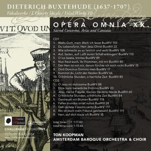 Opera Omnia XX-Vocal Works 10