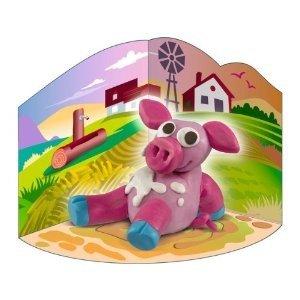 Noris 606310041 - KreaKnet: Schwein, kreatives Kneten