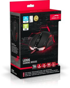 Speedlink LEDOS Gaming Mouse, black