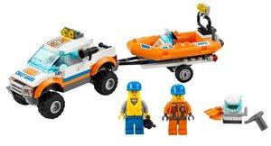 LEGO® City 60012 - Küstenwachenfahrzeug mit Schlauchboot