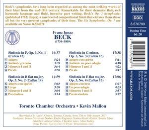Sinfonien op.3,Nr-1-4
