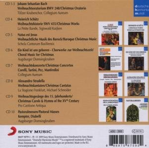 DHM Original Christmas Classics Collection 10 CDs