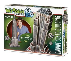 EMPIRE STATE BUILDING - 3D-PUZZLE Wrebbit