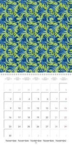 Wallpaper designs - structures and patterns (Wall Calendar 2015