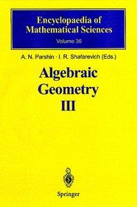 Algebraic Geometry 3