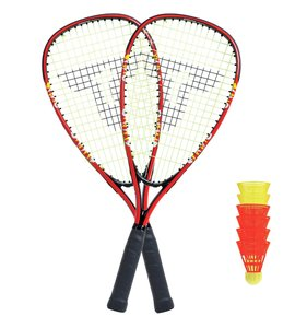 Talbot Torro 490105 - Speed Badminton Set 5000, im Slingbag