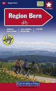 Schweizer Velokarten 9 3 Region Bern 1 : 60 000