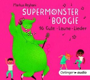 Supermonster-Boogie. 16 Gute Laune-Lieder (CD)