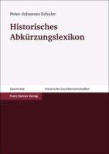 Historisches Abkürzungslexikon