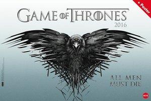Game of Thrones 2016 Broschurkalender XL