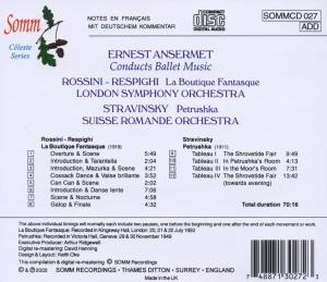 Ernest Ansermet dirigiert Ballettmusik