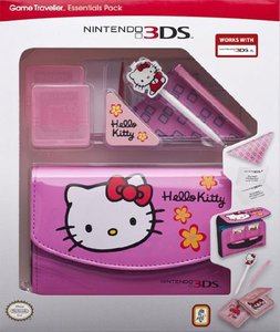 Zubehör-Set Official Essential Hello Kitty Pack - Pink für Ninte