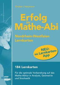Erfolg im Mathe-Abi NRW Lernkarten mit App