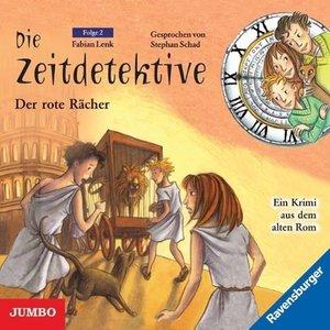 Die Zeitdetektive 02. Der rote Rächer. CD