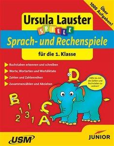 Spiele. Deutsch und Mathematik für die 1. Klasse. CD-ROM für Win