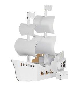 Calafant D2513X - Piratenschiff, Bastelset, LEVEL 3, 46,5 x 18,5