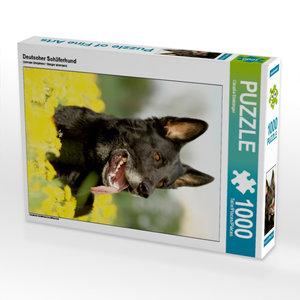 Deutscher Schäferhund 1000 Teile Puzzle hoch