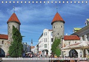Die Altstadt von Tallinn (Tischkalender 2016 DIN A5 quer)