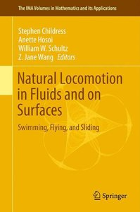 Natural Locomotion in Fluids and on Surfaces