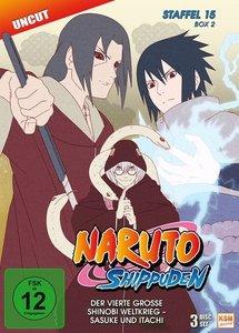 Naruto Shippuden - Staffel 15 - Box 2: Folgen 555-568