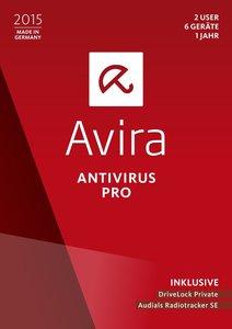 Avira AntiVirus Pro 2015 (2 User/6 PC/1 Jahr)