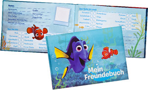 Disney Finding Dory Freundebuch A5 quer