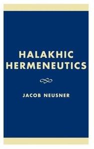 Halakhic Hermeneutics