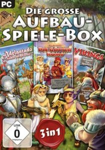 Die Grosse Aufbau-Spiele-Box 3in1