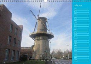Vlaardingen Old and New Beauty (Wall Calendar 2015 DIN A3 Landsc