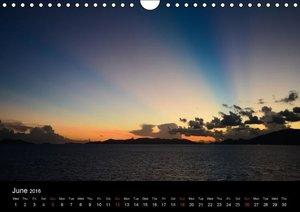 Beneath Caribbean Skies (Wall Calendar 2016 DIN A4 Landscape)