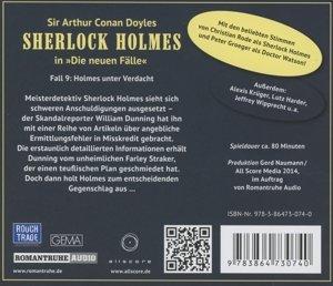 Sherlock Holmes - Neue Fälle 09. Holmes unter Verdacht