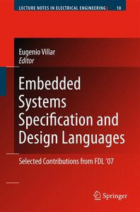 Embedded Systems Specification and Design Languages