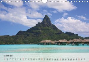 Beautiful Beaches and summer feelings (Wall Calendar 2015 DIN A4