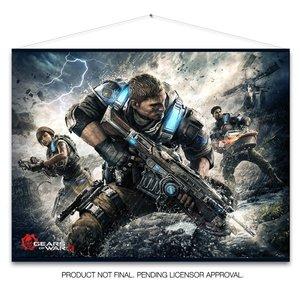 Gears of War 4 - Wallscroll / Banner - Keyart Motiv (100cm x 77