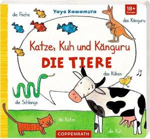 Katze, Kuh und Känguru