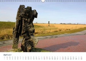 Kunst in Butjadingen 2017 (Wandkalender 2017 DIN A3 quer)