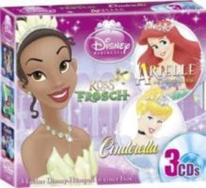 Disney 3 CD Princess-Box