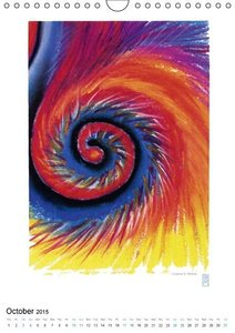 Fire Air Water Earth (Wall Calendar 2015 DIN A4 Portrait)